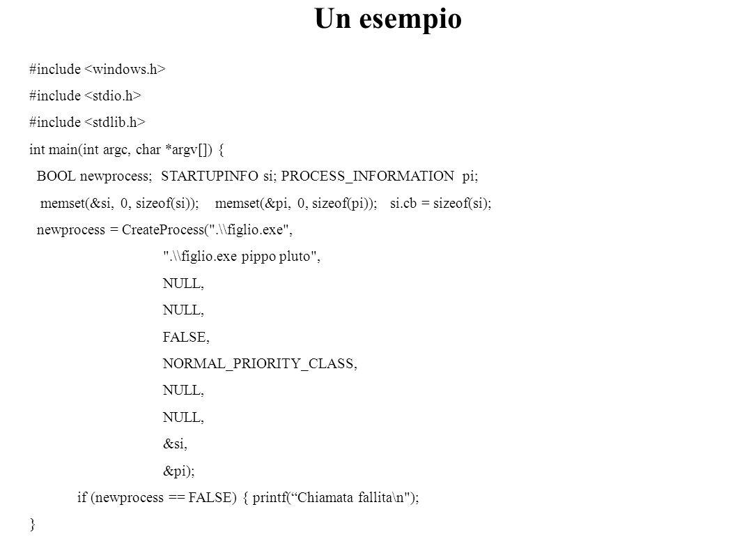 #include int main(int argc, char *argv[]) { BOOL newprocess; STARTUPINFO si; PROCESS_INFORMATION pi; memset(&si, 0, sizeof(si)); memset(&pi, 0, sizeof