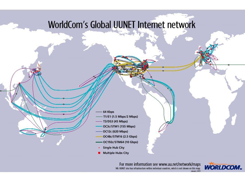 Rete IP (Internet Service Provider) ISDN/PSTN xDSL Internet POP Internet service providers Point of Presence