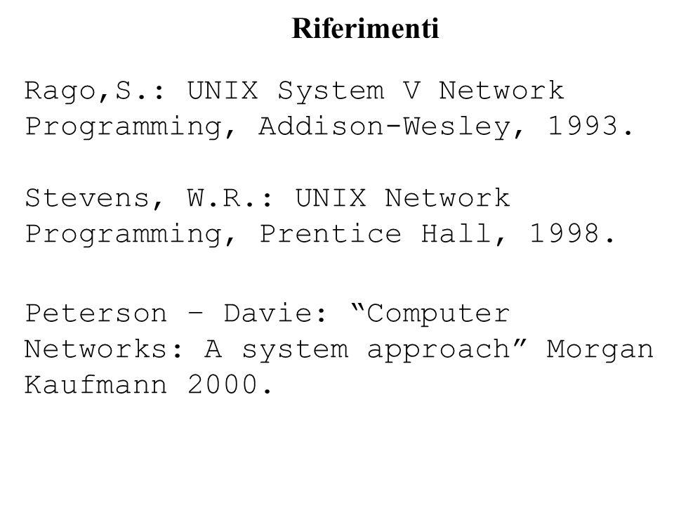 Manipolare pacchetti da/per raw socket in teoria: conoscendo lesatta struttura dellheader di un pacchetto da inviare su un raw socket, si può scrivere il pacchetto byte per byte, header di protocollo incluso (tenendo presente che ogni campo di protocolli standard va scritto in network order) in pratica: la scrittura di un pacchetto byte per byte è onerosa e poco maneggevole Esistono strutture dati che riflettono accuratamente la struttura degli header di un protocollo ESEMPI: in è definita una struct ip in è definita una struct icmp