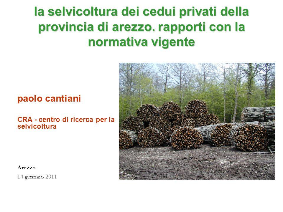 Il regolamento forestale toscano è uno strumento modulato su due livelli (dichiarazione -autorizzazione) è flessibile e articolato e quindi rende possibile lattuazione di una selvicoltura adattabile a diverse realtà