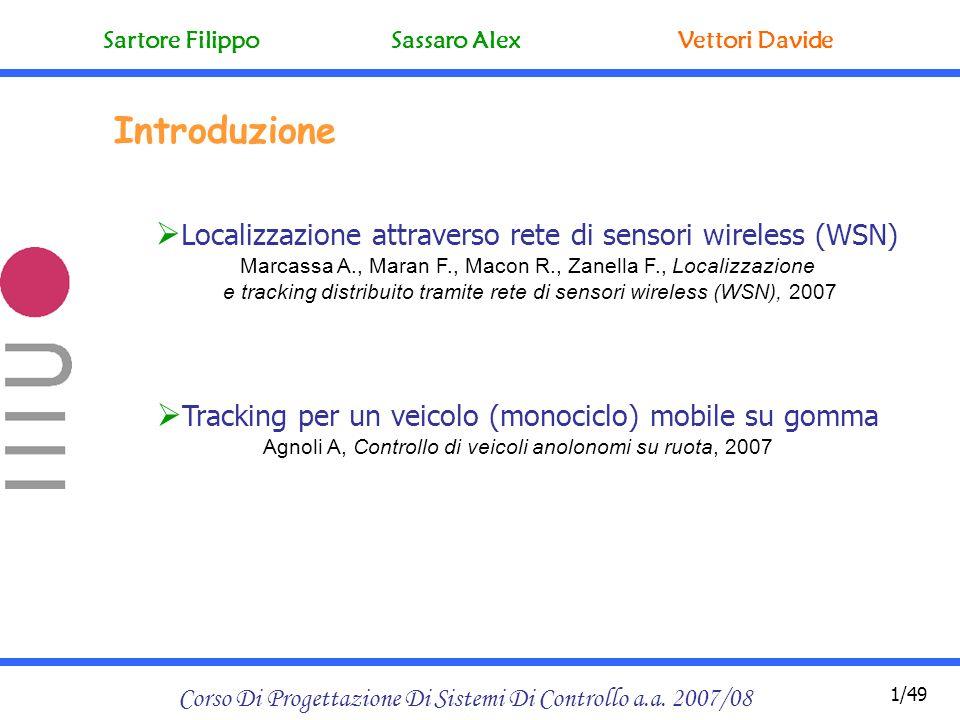 Corso Di Progettazione Di Sistemi Di Controllo a.a.