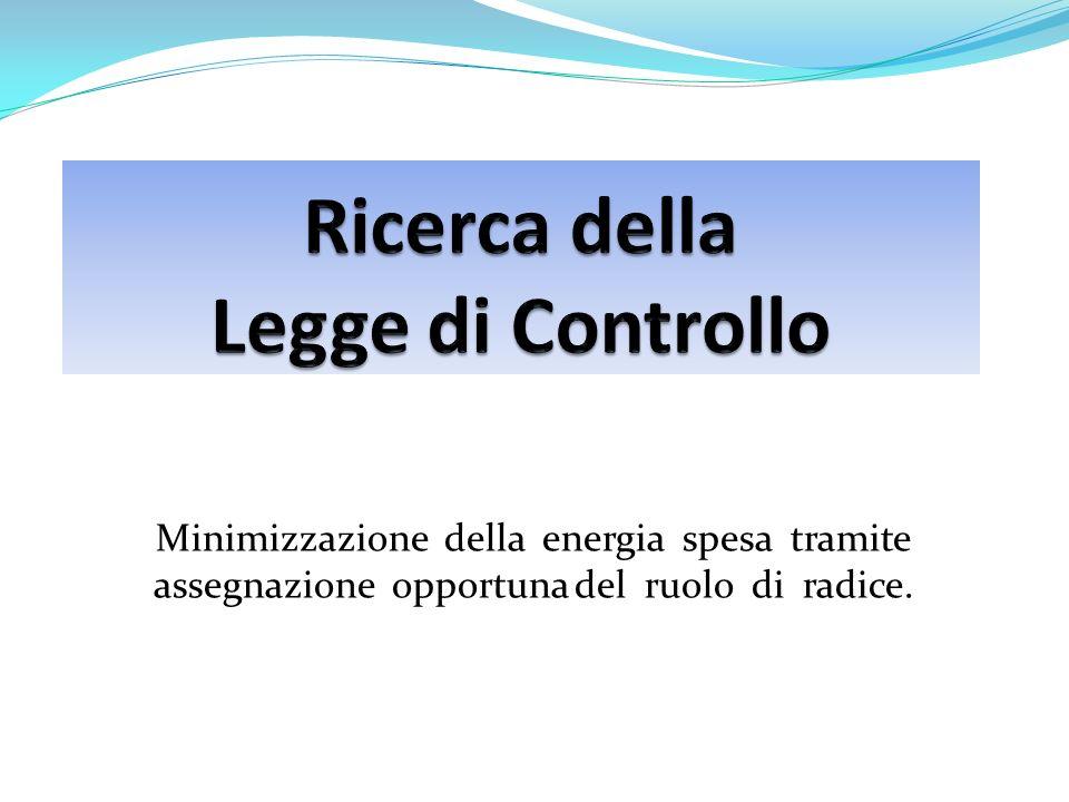 Minimizzazione della energia spesa tramite assegnazione opportuna del ruolo di radice.