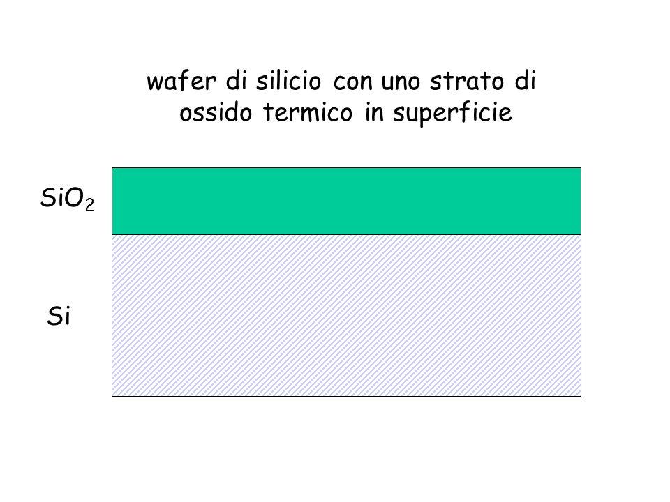 SiO 2 Si wafer di silicio con uno strato di ossido termico in superficie