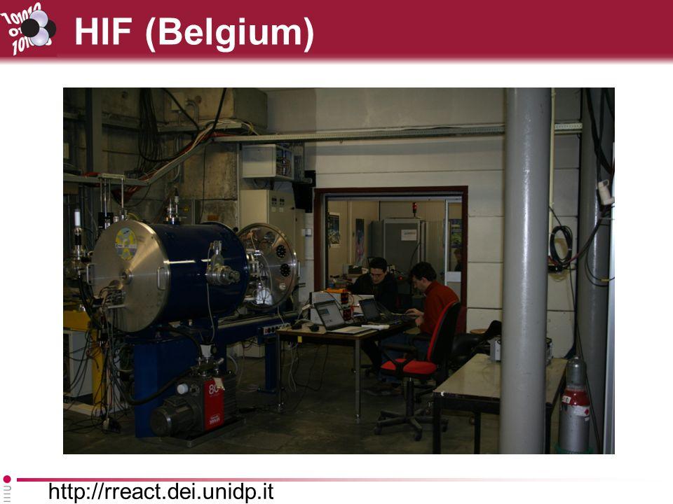 http://rreact.dei.unidp.it HIF (Belgium)