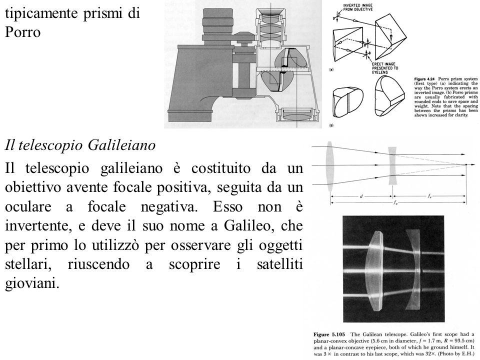 Ingrandimento di un telescopio Abbiamo già definito lingrandimento di un telescopio come MP = a / u.
