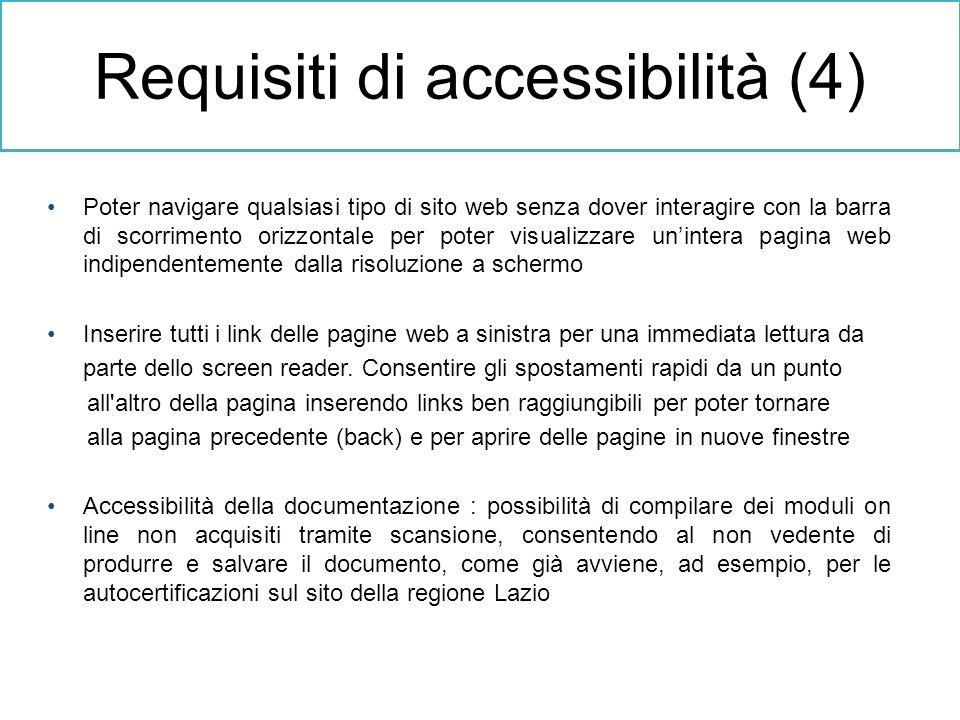 Poter navigare qualsiasi tipo di sito web senza dover interagire con la barra di scorrimento orizzontale per poter visualizzare unintera pagina web in