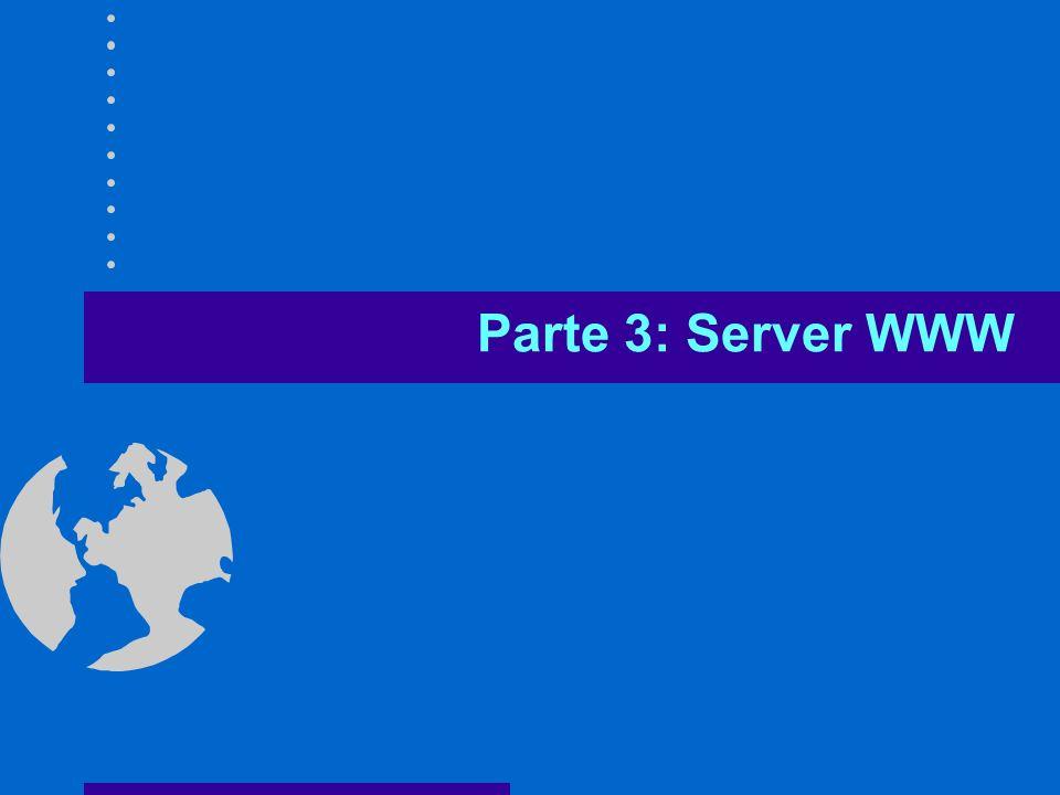 Parte 3: Server WWW