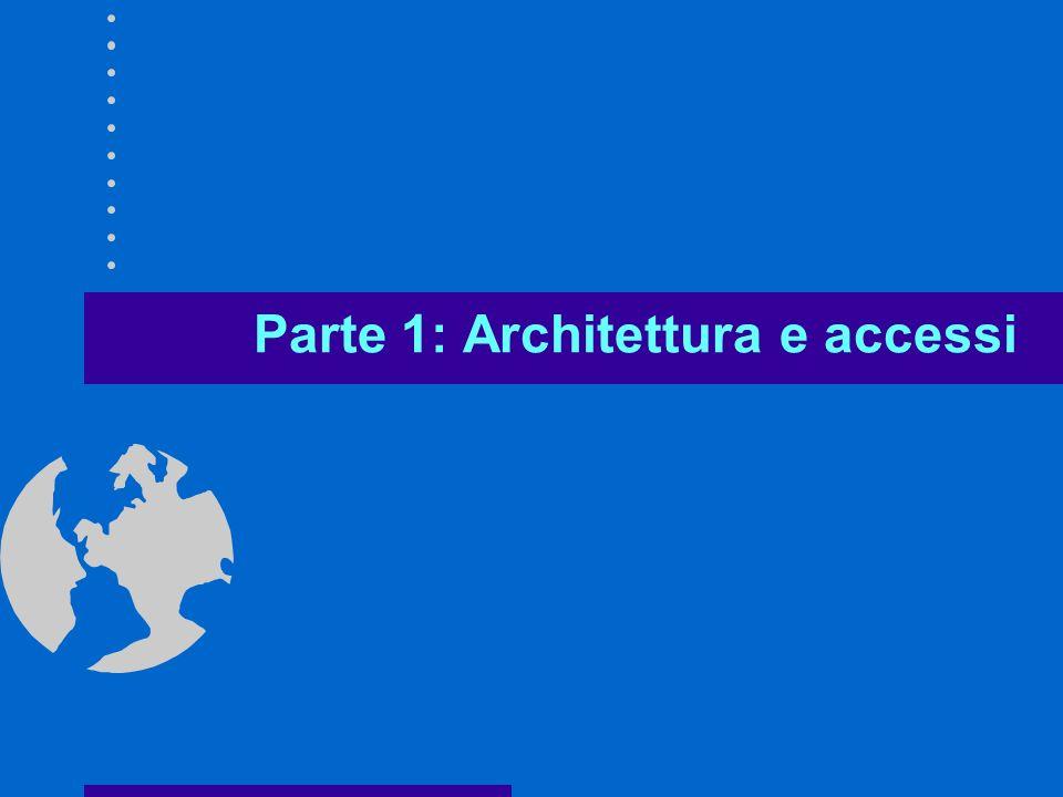 Parte 1: Architettura e accessi
