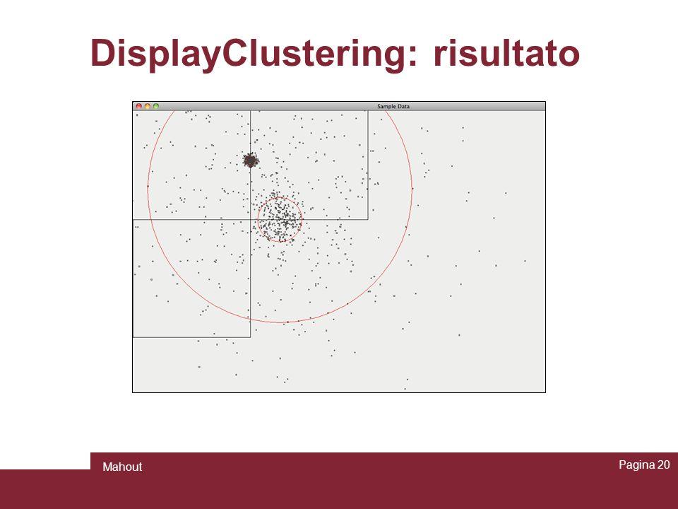 DisplayClustering: risultato Pagina 20 Mahout