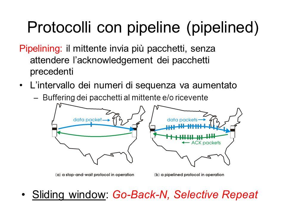 Prestazioni di rdt3.0 rdt3.0 funziona, ma le prestazioni non sono buone Esempio: link da 1 Gbps, ritardo prop.