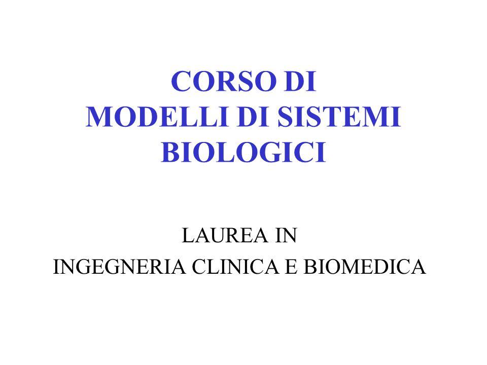 Lo studio dei sistemi biologici tramite modelli matematici è relativamente recente.