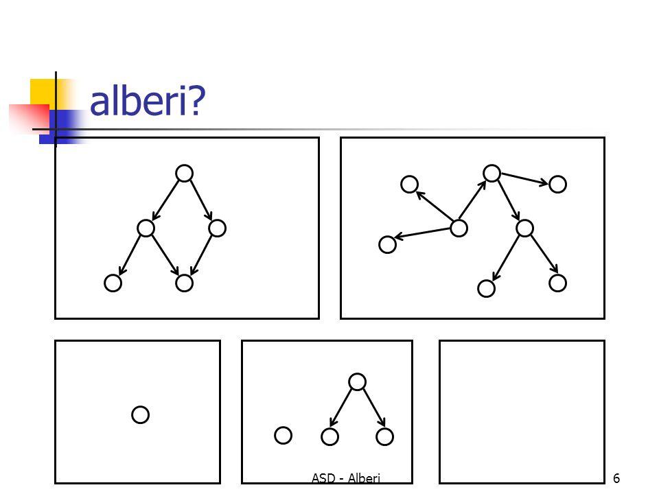 ASD - Alberi6 alberi?