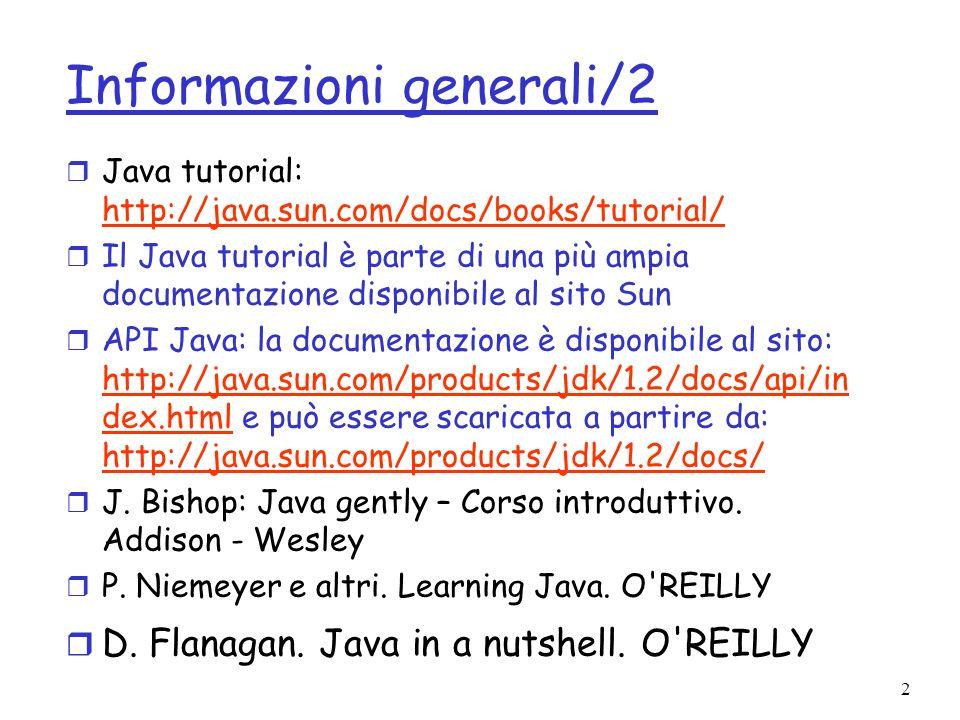 3 Obiettivi r A cosa serve la progettazione di algoritmi e strutture dati r Come si misura lefficienza delle strutture dati e degli algoritmi r Come scegliere gli algoritmi e le strutture dati adatti a risolvere in modo efficiente un problema r Implementazione di algoritmi e strutture dati in Java