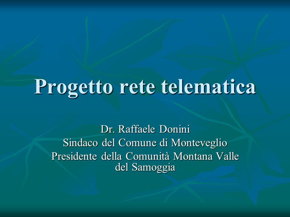 Progetto rete telematica Dr.