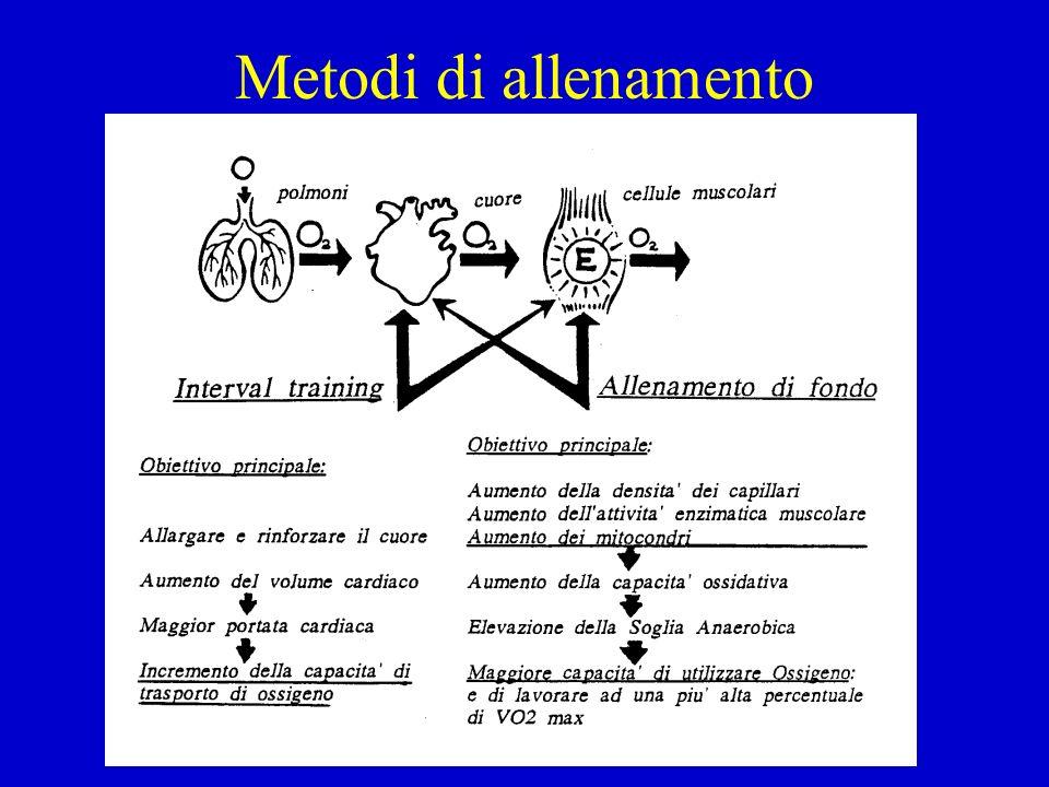 Metodi di allenamento