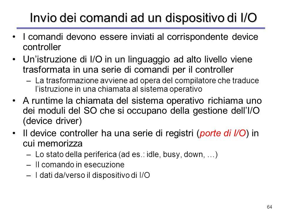 Lucidi di raccordo I contenuti dei lucidi successivi sono stati già trattati, tra laltro in modo molto più approfondito, quando si è trattato dellI/O del PD32.