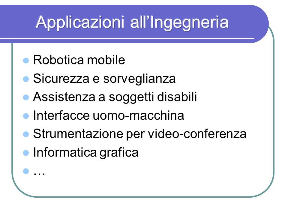 Robotica mobile Sicurezza e sorveglianza Assistenza a soggetti disabili Interfacce uomo-macchina Strumentazione per video-conferenza Informatica grafi
