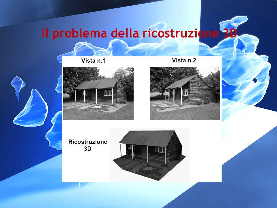 Il problema della ricostruzione 3D