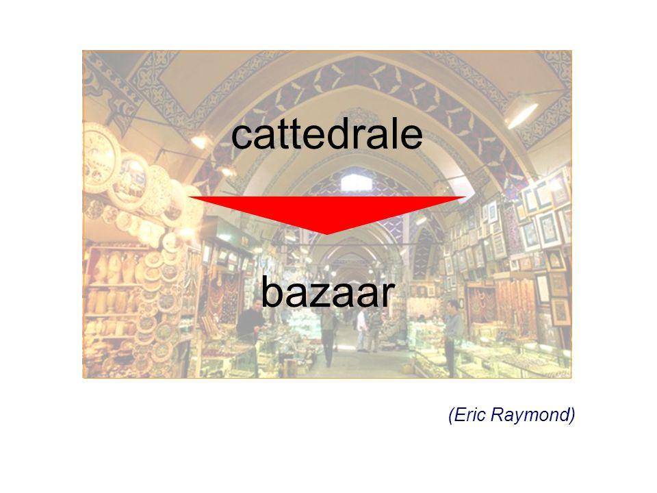 cattedrale bazaar (Eric Raymond)
