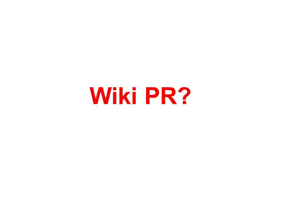 Wiki PR