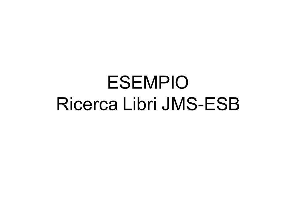 ESEMPIO Ricerca Libri JMS-ESB