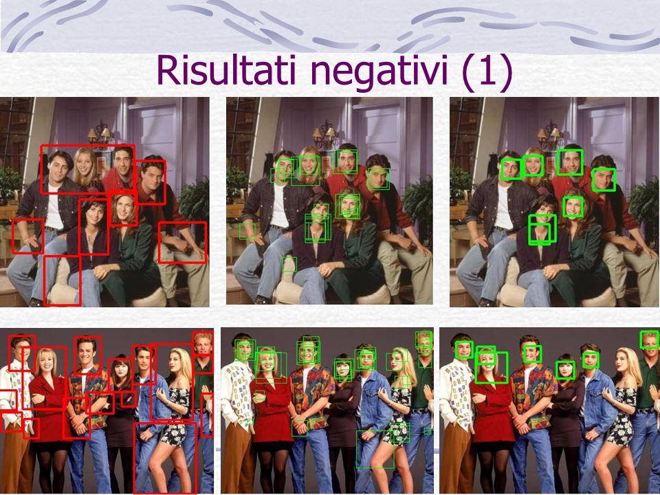 Risultati negativi (1)