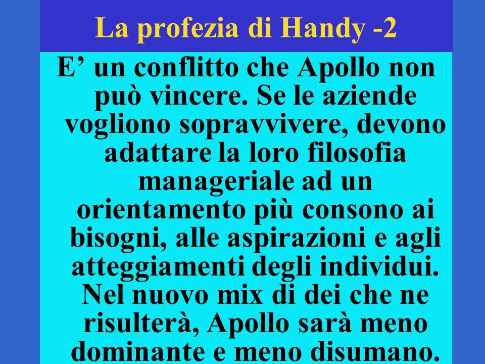 La profezia di Handy -2 E un conflitto che Apollo non può vincere.