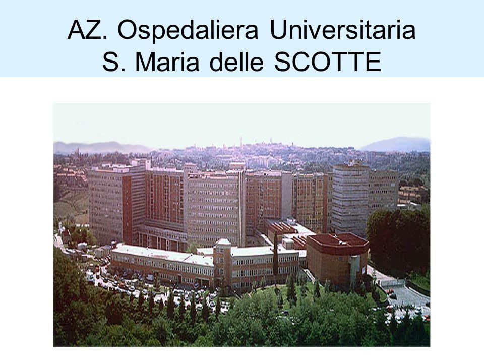 AZ. Ospedaliera Universitaria S. Maria delle SCOTTE