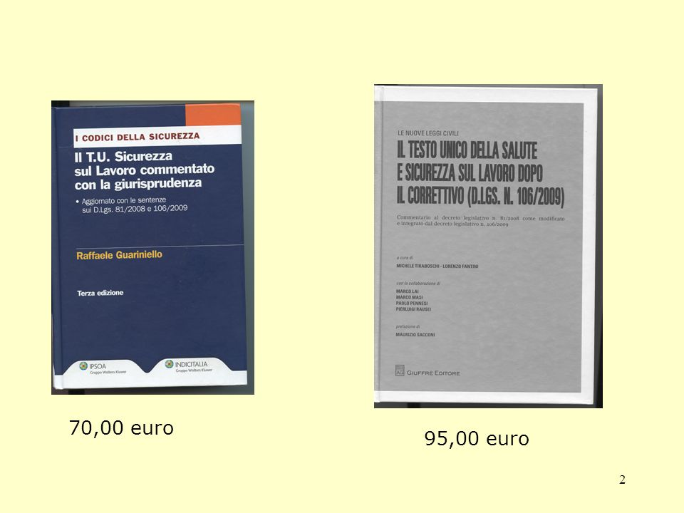 2 70,00 euro 95,00 euro