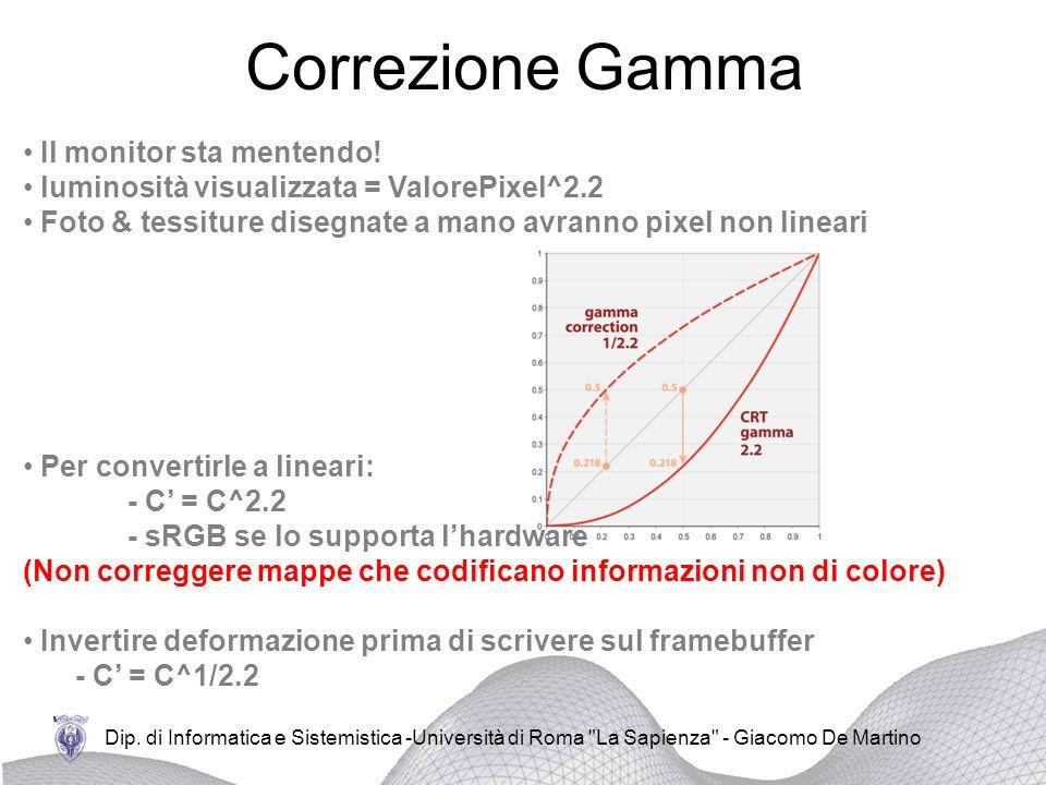 Dip. di Informatica e Sistemistica -Università di Roma