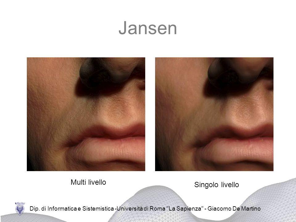 Jansen Multi livello Singolo livello