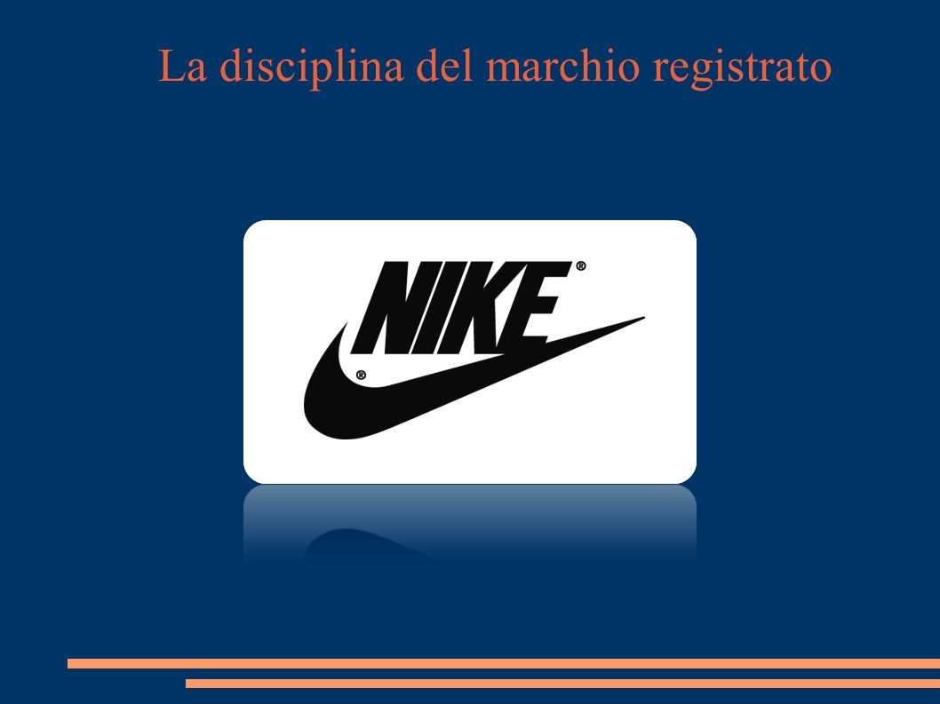La disciplina del marchio registrato