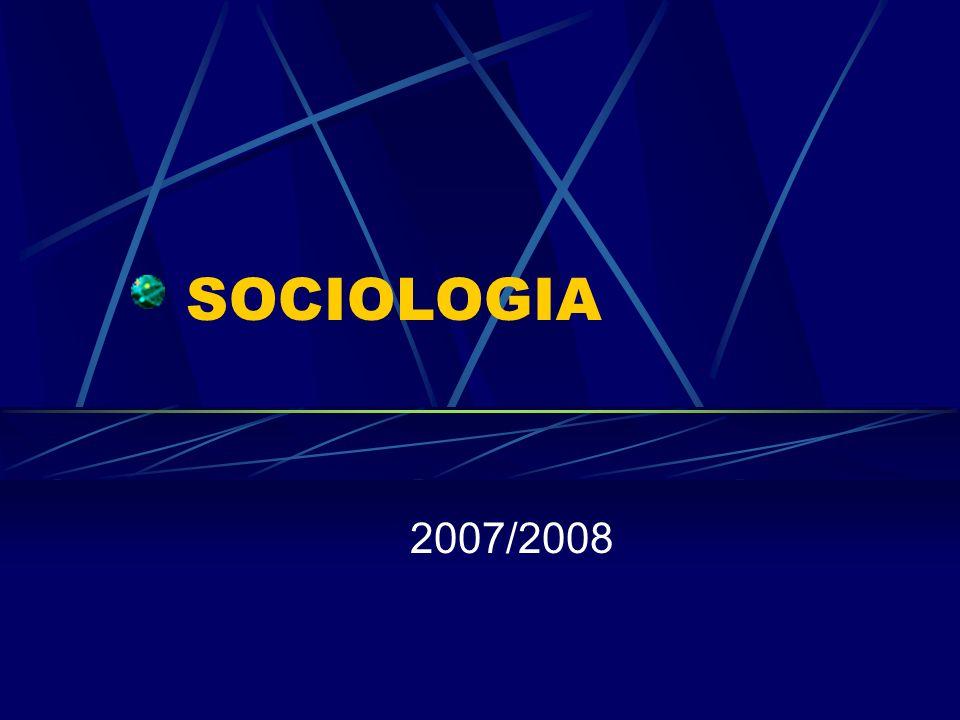 SOCIOLOGIA 2007/2008