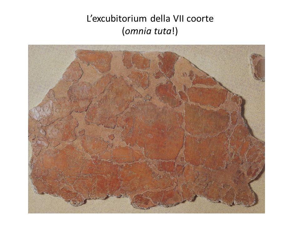 Lexcubitorium della VII coorte (omnia tuta!)