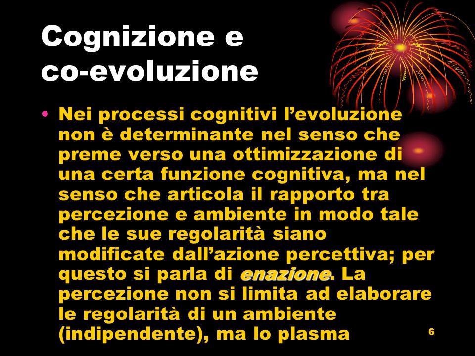 7 Una versione della psicologia ecologica.