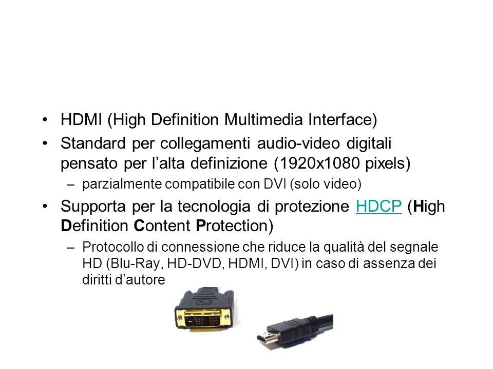 EVOLUZIONE DELLE SERIALI: USB e Firewire USB (Universal Serial Bus) 480 Mbit/s (USB2) fino a 127 periferiche in cascata hot-swap alimentazione diretta