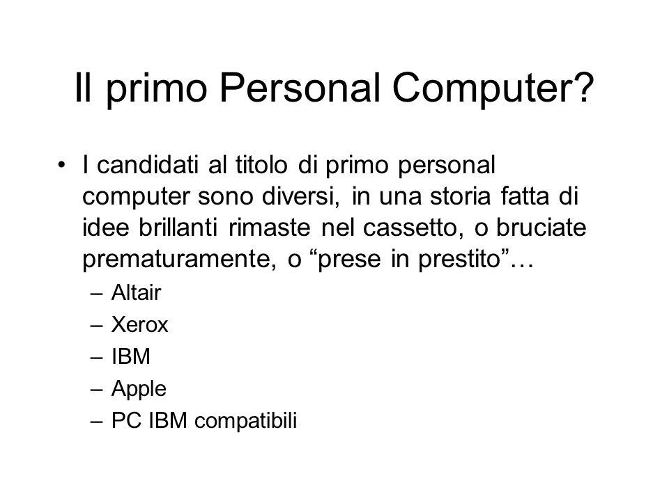Il primo Personal Computer.