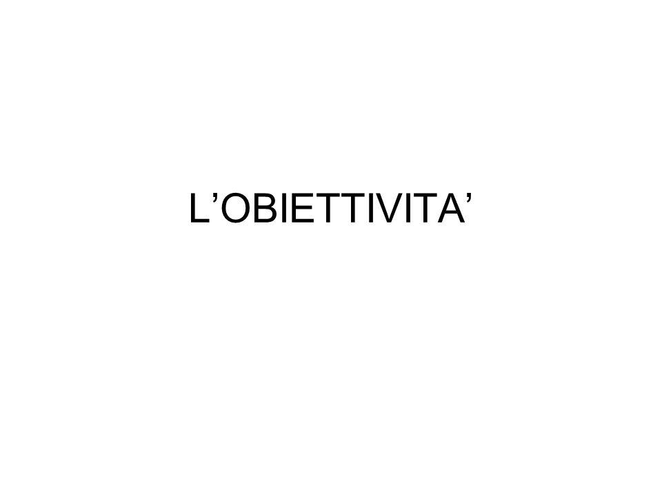 LOBIETTIVITA