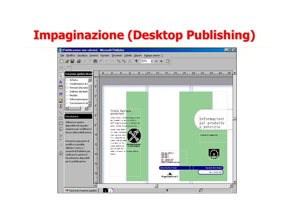 Impaginazione (Desktop Publishing)