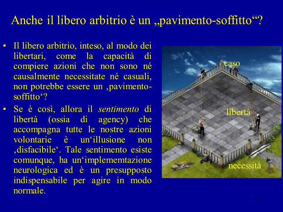 15 Rappresentazioni di oggetti impossibili Il trucco nellimmagine sullo schermo consiste nel fatto che le mattonelle disposte a scacchiera portano a v