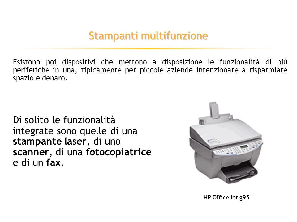 Stampanti laser Utilizzano una tecnologia simile a quella delle fotocopiatrici: HP LaserJet 4550
