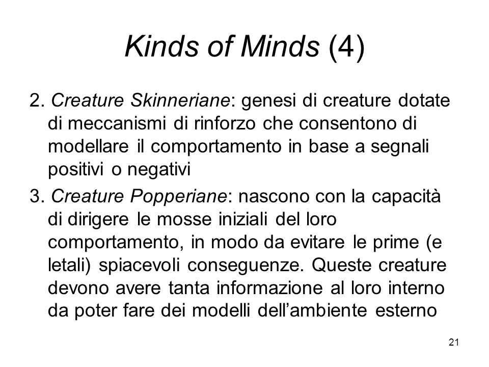 21 Kinds of Minds (4) 2.