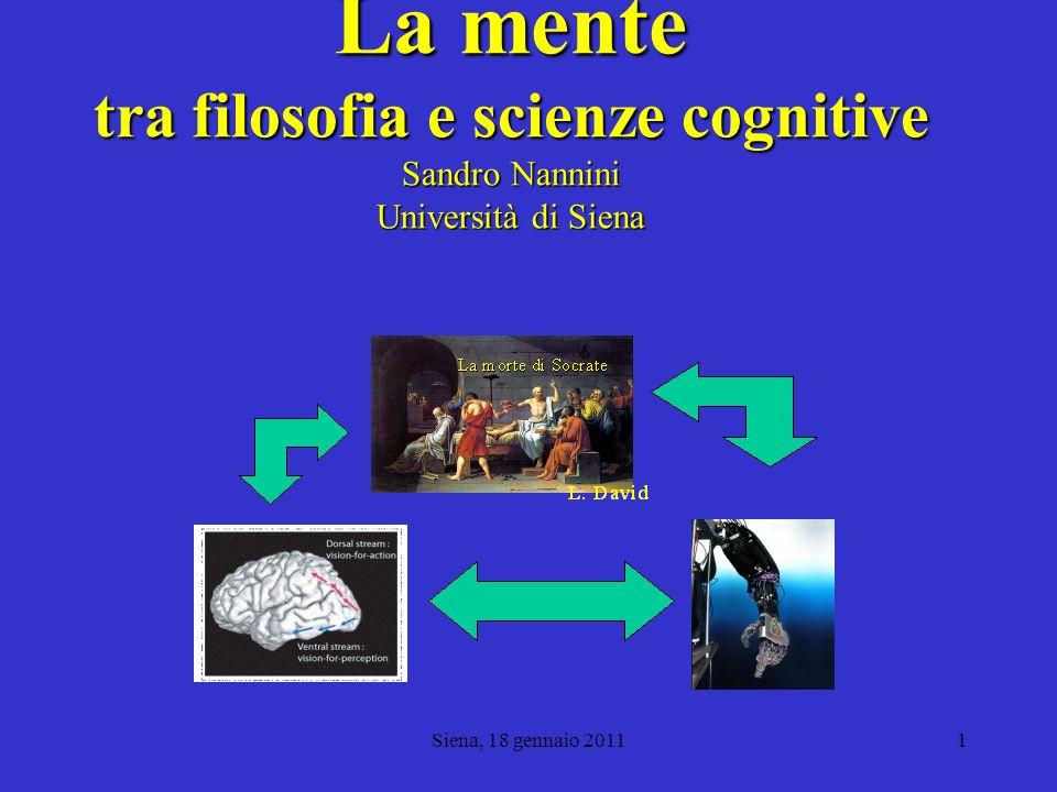 Siena, 18 gennaio 20112 Fisica ingenua e fisica teorica Una delle seguenti affermazioni è vera: Ogni respiro che voi fate contiene un atomo che è stato espirato da Marylin Monroe.