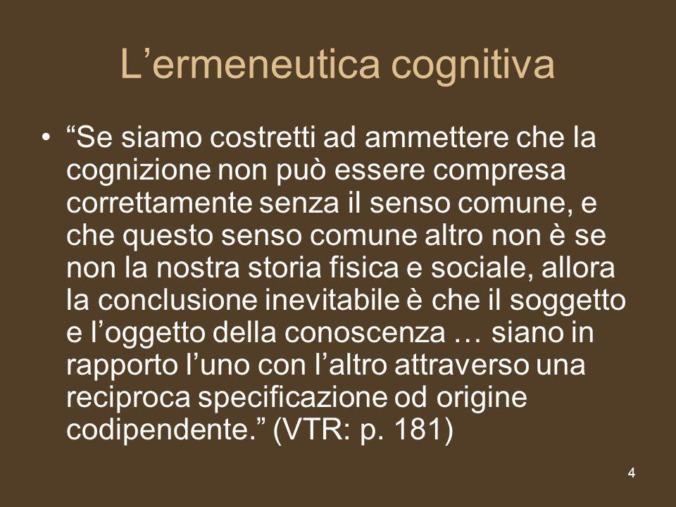 5 mente come sistema complesso La mente come sistema complesso La dimensione ermeneutica del senso comune è rispecchiata più fedelmente dalla mente considerata come sistema complesso auto-organizzato.
