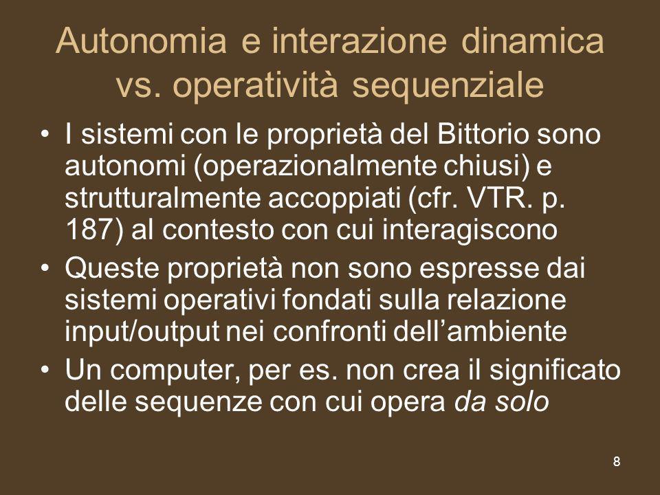 8 Autonomia e interazione dinamica vs.