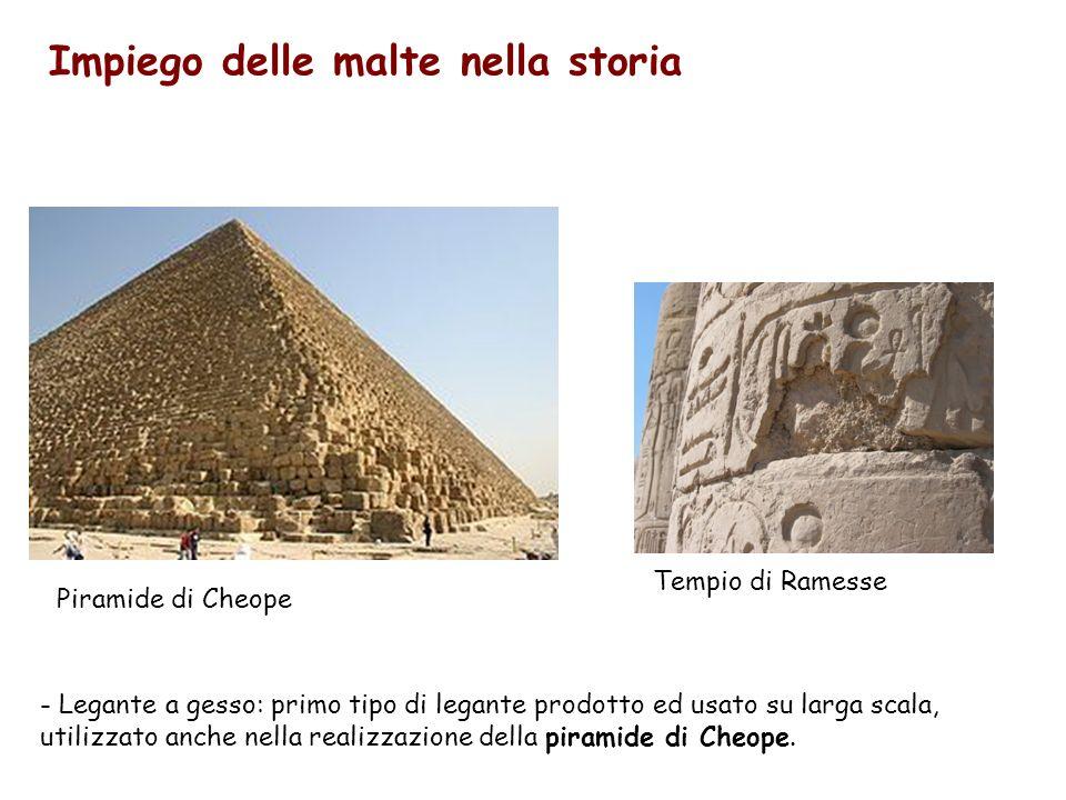 Gli Etruschi usano le malte non per allettamento, ma per il rivestimento di superfici, utilizzando materiale a comportamento pozzolanico Tomba Ildebranda (Sovana)