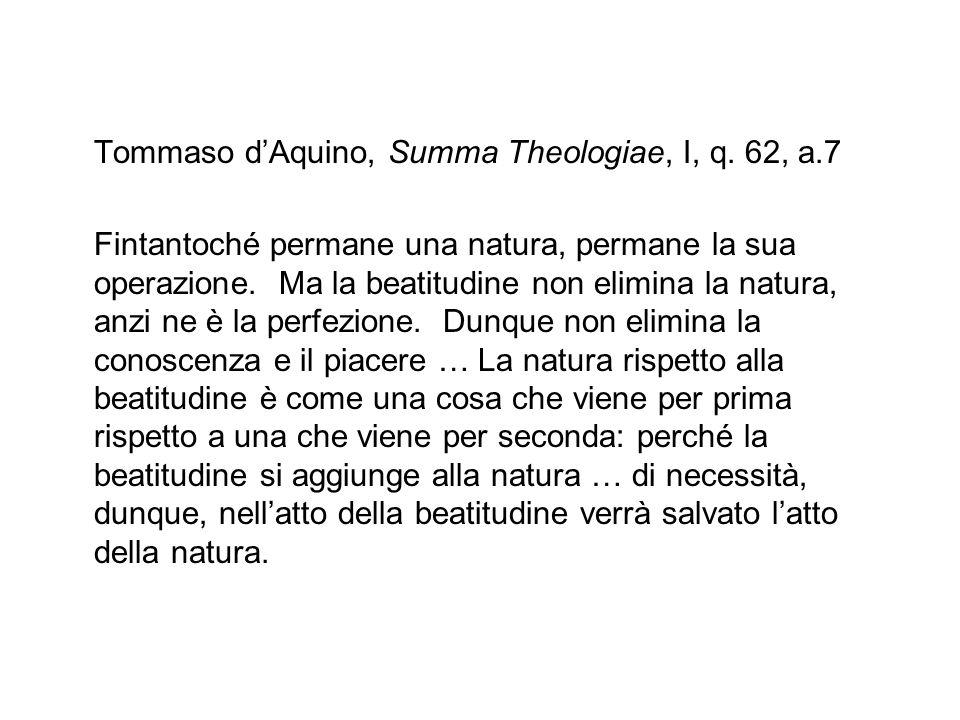 Tommaso dAquino, Summa Theologiae, I, q.