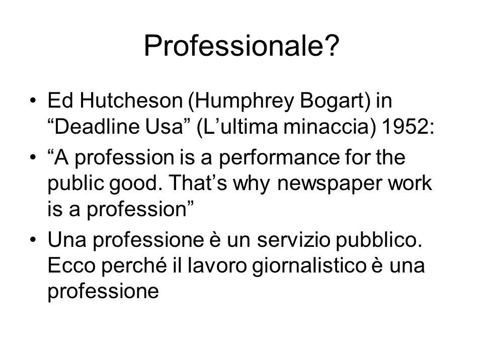 Professionale.