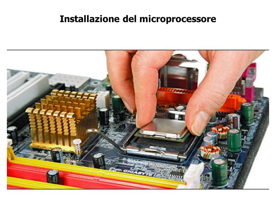 Il microprocessore (CPU Central Process Unit)