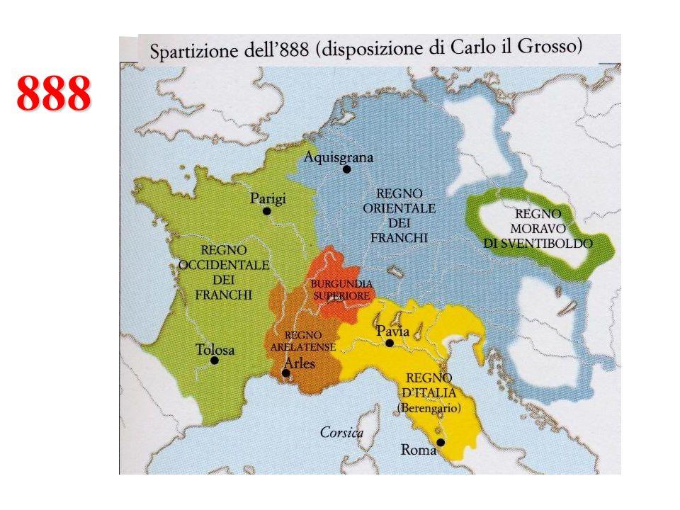 Berengario I Berengario I Figlio di una figlia di Ludovico il Pio e del Marchese del Friuli.